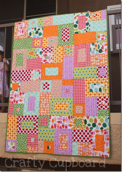 Toss Up Quilt 2011