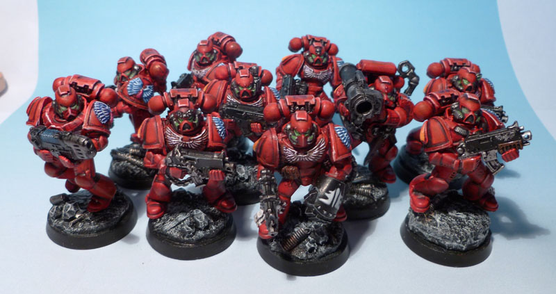 Blood Angels Escouade Tactique