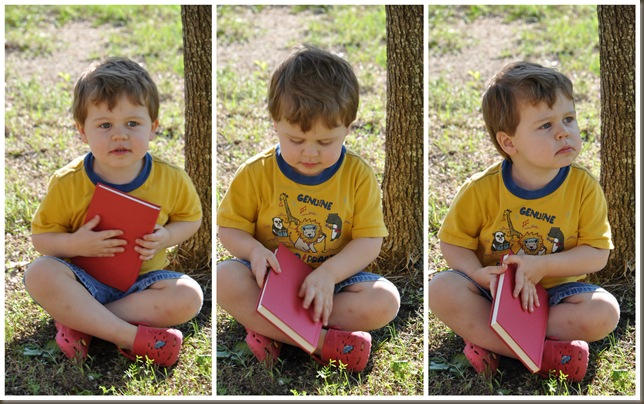 A boy and his book (3)