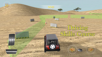 Screenshot of Safari Adventure Racing 4x4