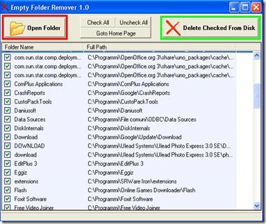 Empty Folder Remover