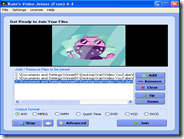 Programma gratis per unire video AVI, MP4, MPEG, 3GP, WMV, MOV e ASF in unico file