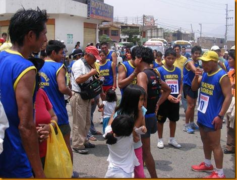 santa eulalia fue visitada por atletas de todas partes del perú y del mundo