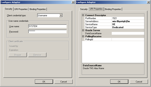 7. Configure Adapter