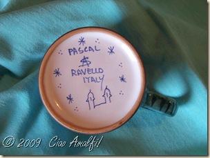 Ciao Amalfi Coast Blog Ceramic Mug bottom