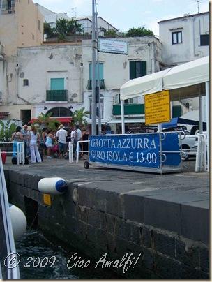 Ciao Amalfi Coast Blog Capri Sign