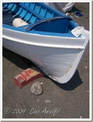 Ciao Amalfi Coast Blog Atrani Beach Boat