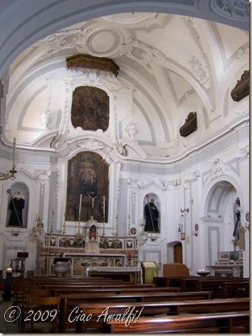 Ciao Amalfi Coast Blog Church Interior