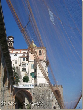 Ciao Amalfi Coast Blog Atrani nets