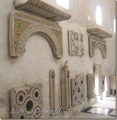 Ciao Amalfi Coast Blog Cloister Mosaics