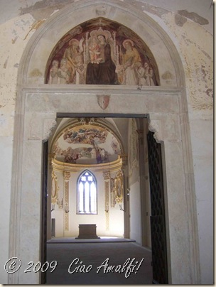 Ciao Amalfi Coast Blog Certosa San Giacomo Chapel