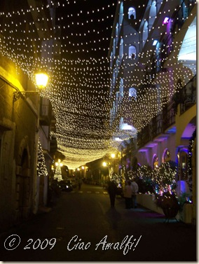 Ciao Amalfi Coast Blog Christmas Minori 1