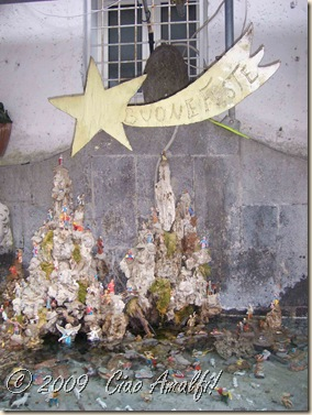 Ciao Amalfi Coast Blog Fountain Presepe 1