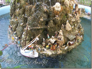Ciao Amalfi Coast Blog Fountain Presepe 6