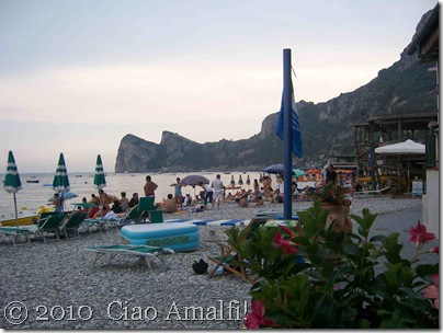 Ciao Amalfi Coast Blog Nerano Evening Light