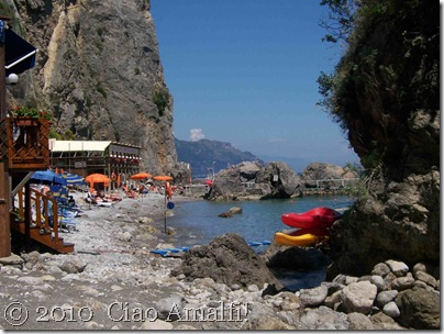 Ciao Amalfi Coast Blog Santa Croce Beach