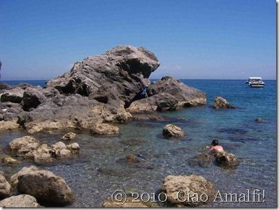 Ciao Amalfi Coast Blog Santa Croce Sea