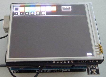 Light Sensor AutoBrightness Slide Paint Dark