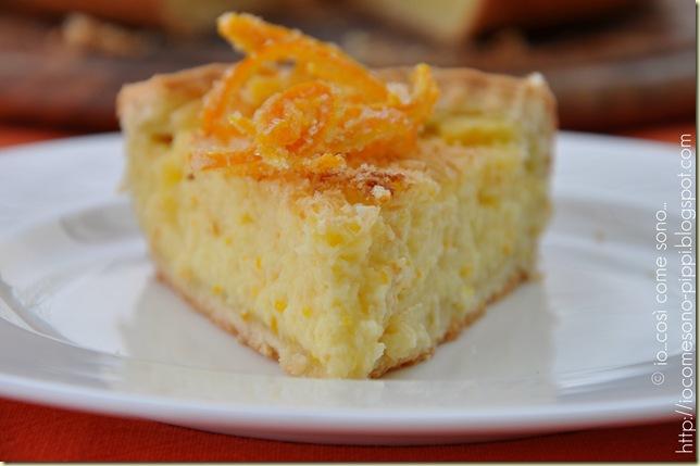 Crostata di crema alla ricotta e cocco al profumo di arancia3