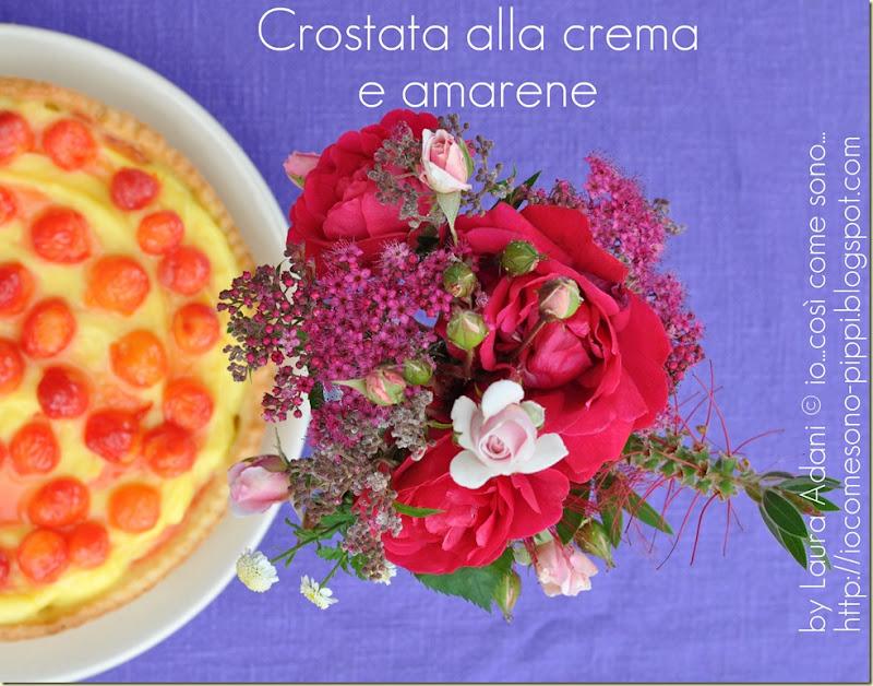 Crostata alla crema e amarene1