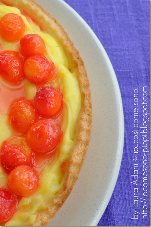 Crostata alla crema e amarene3