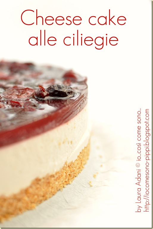 Cheese cake alle ciliegie1bis