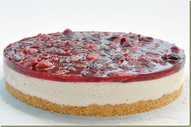 Cheese cake alla ciliegie2