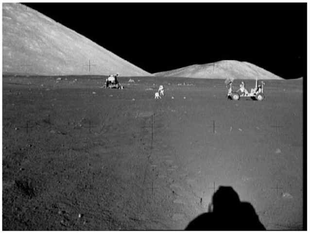 The Lunar Module Challenger at rest in the Valley of Taurus-Littrow on the Moon (courtesy of NASA). This figure is available in full color at http://www.mrw. interscience.wiley.com/esst.
