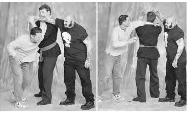 Grand Master Rich Mooney demonstrates various defensive moves from Southern Shaolin Tiger Crane Fist, 2001.
