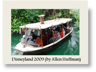 Jungle Cruise Boat 1