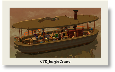CTR Jungle Cruise Boat 2