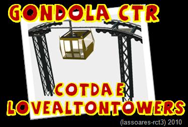 Gondola-CTR by Cotda e Lovealtontowers (lassoares-rct3)