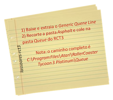 Instalação Generic Quene Line (Old-Spice) lassoares-rct3