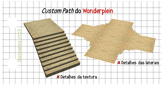 Custom Path Wonderplein I (lassoares-rct3)