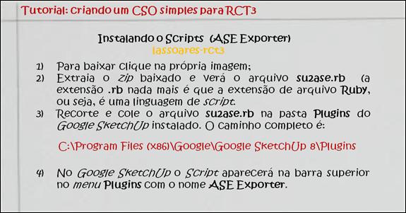 Tutorial CSO 004 (lassoares-rct3)