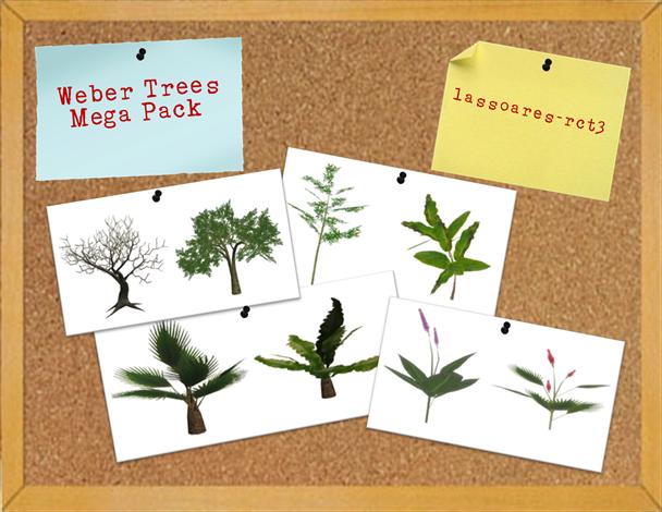 Weber Trees Mega Pack (lassoares-rct3)