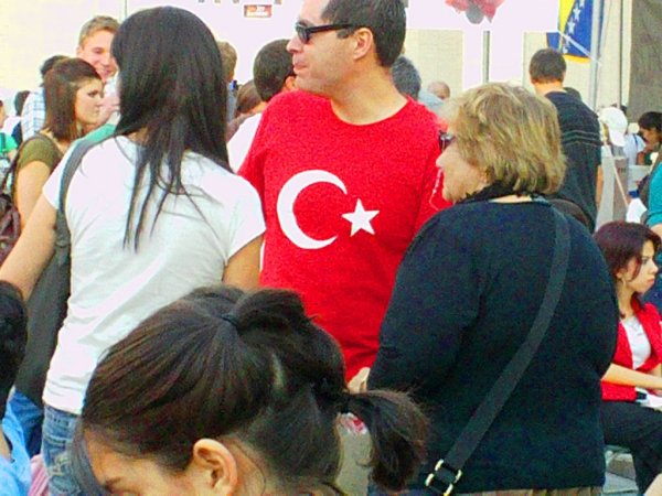 Turkish Flag shirt 2