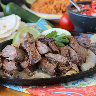 Authentic Steak Fajitas