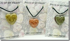 pyrite copper hearts