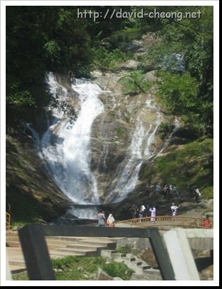 Waterfall on cameron Highland