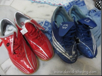 old blue addidas futsal shoe, new lotto futsal shoe