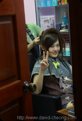 setting hair