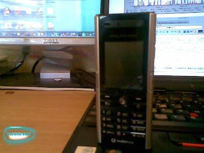我的第一部非常入门级的3G手机索尼爱立信v600i