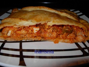empanada de bonito,racion