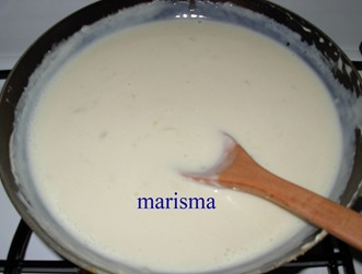 cardo con bechamel,bechamel2