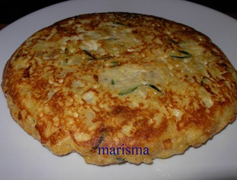 tortilla de calabacin