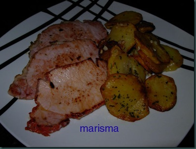 patatas al ajillo,racion