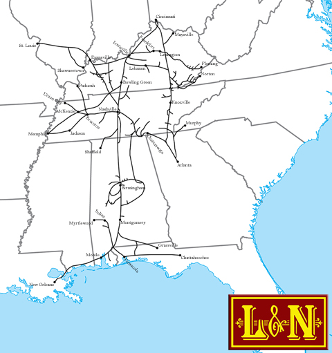 The Louisville And Nashville Railroad
