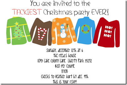 Believers: Tacky Christmas Party
