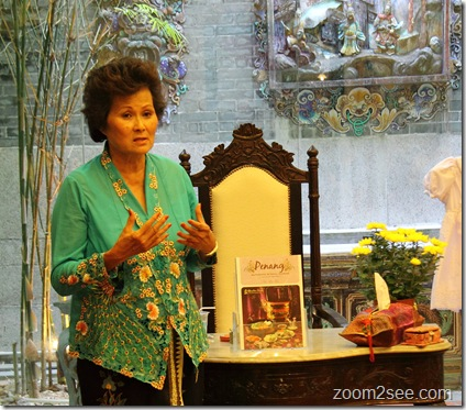Launching of Cookbook Promoting Penang Authentic Nyonya Cuisine by Bee Lee Tan